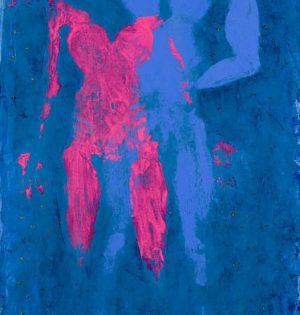 Fly Me Acrylic on canvas / 230 x 95 cm