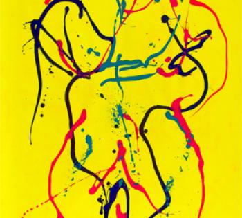 Eternal love Acrylic on canvas / 112 x 202 cm